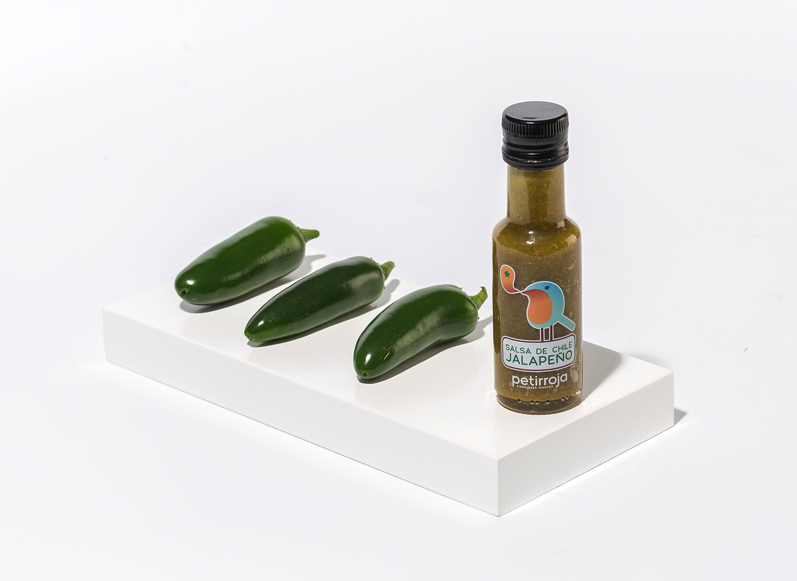 Petirroja-Salsa de chile jalapeño