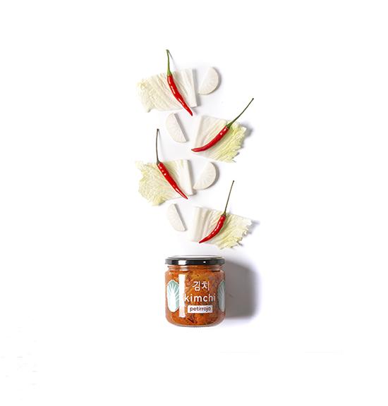 Petirroja-Kimchi baechu coreano vegano