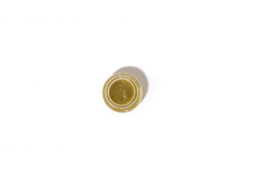 Petirroja-Salsa de pimiento de Padrón verde picante