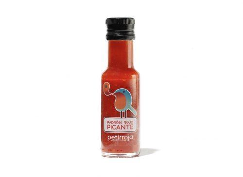 Petirroja - Salsa de pimiento de Padrón rojo picante